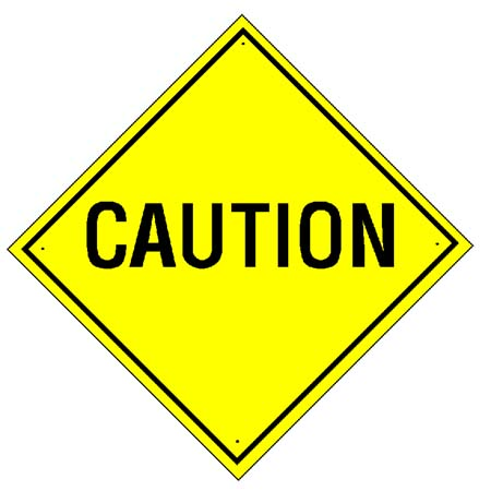 Caution sign clipart free images 7