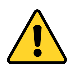 Caution sign clipart panda free images