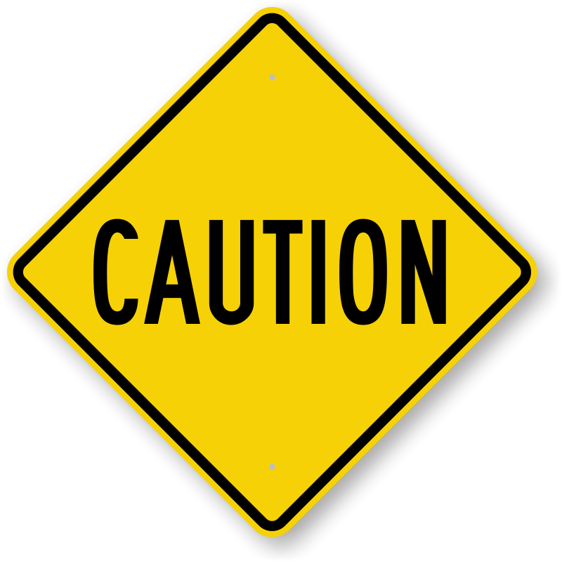 Caution sign free download clip art on clipart