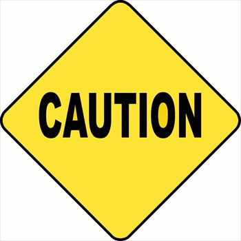 Caution Signs Clip Art