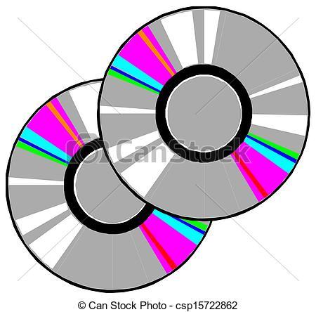 CD Or DVD Discs - Csp15722862-CD or DVD discs - csp15722862-7