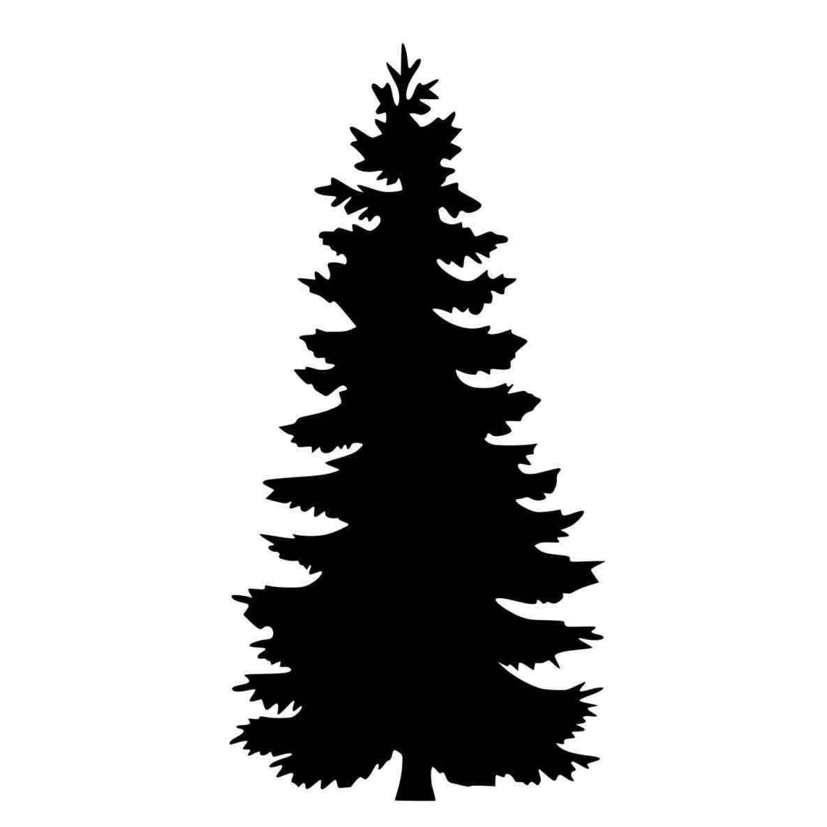 Cedar Tree Silhouette U203a .-cedar tree silhouette u203a .-0