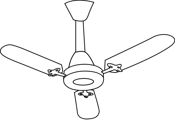 ceiling fan clipart - Ceiling Fan Clipart