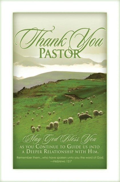 Celebrate Pastor Appreciation Month