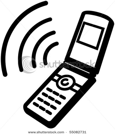 Cell Phone Clipart-cell phone clipart-5