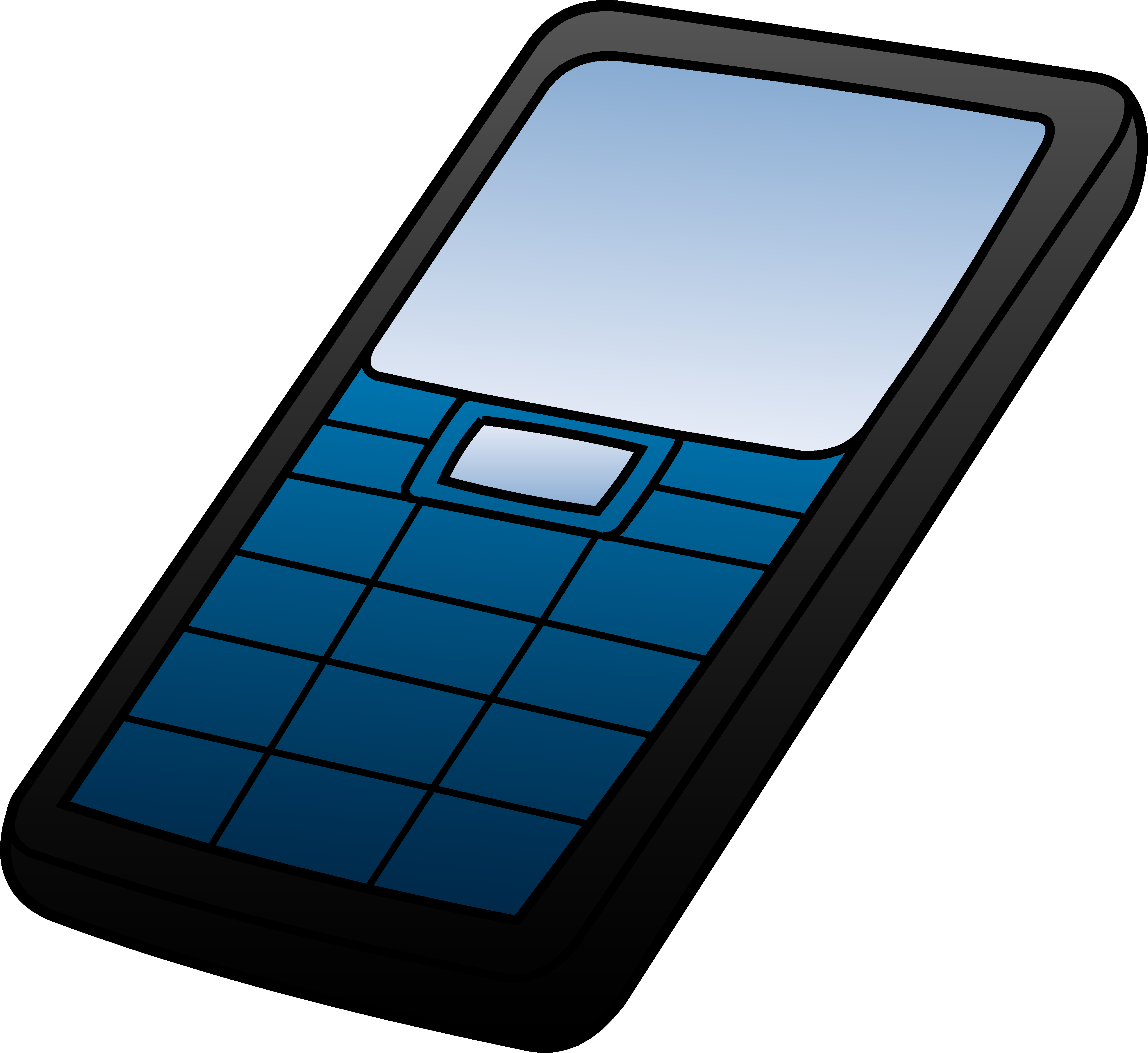 Cell Phone Clipart 3-Cell phone clipart 3-6