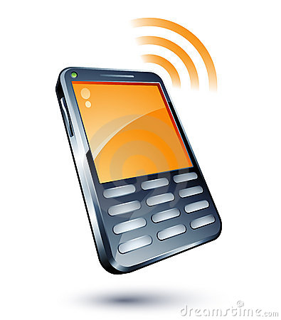 Cell Phone Clipart Cell Phone .-Cell Phone Clipart Cell Phone .-4