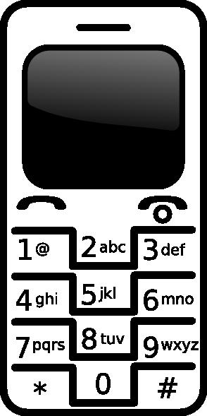 Cell Phone Clipart Clip Art Clip Art Fre-Cell Phone Clipart Clip Art Clip Art Free Clip Art Borders Clip-7