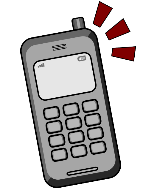 Cell Phone Clipart Clipart Panda Free Clipart Images