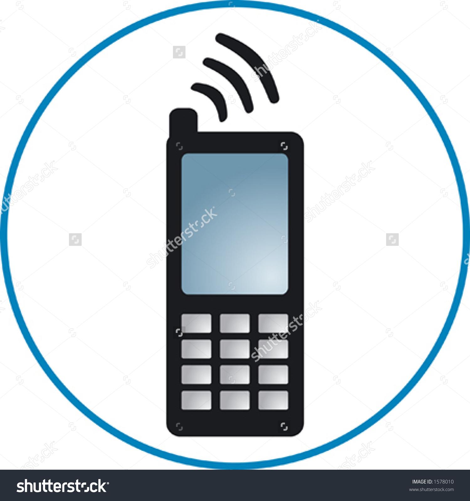 Cellphone Clipart-Cellphone Clipart-7