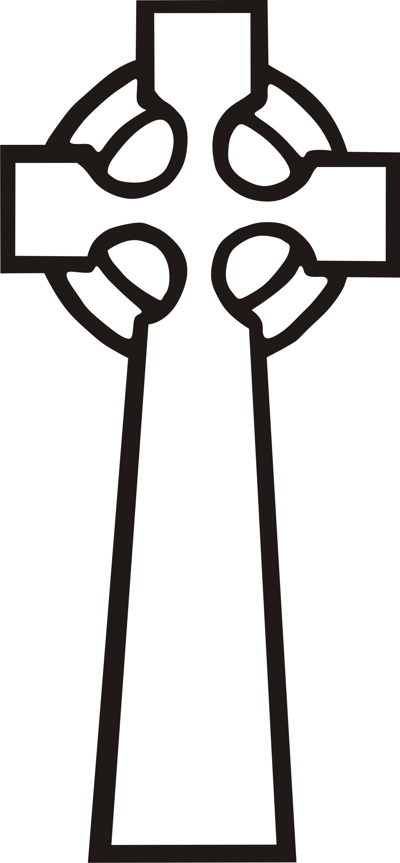 Celtic Cross Clipart-celtic cross clipart-0