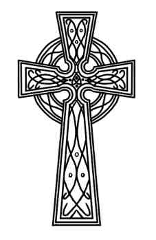 Celtic Cross Also Known As An Irish Cros-Celtic Cross Also Known As An Irish Cross Is A Variation Of The More-5