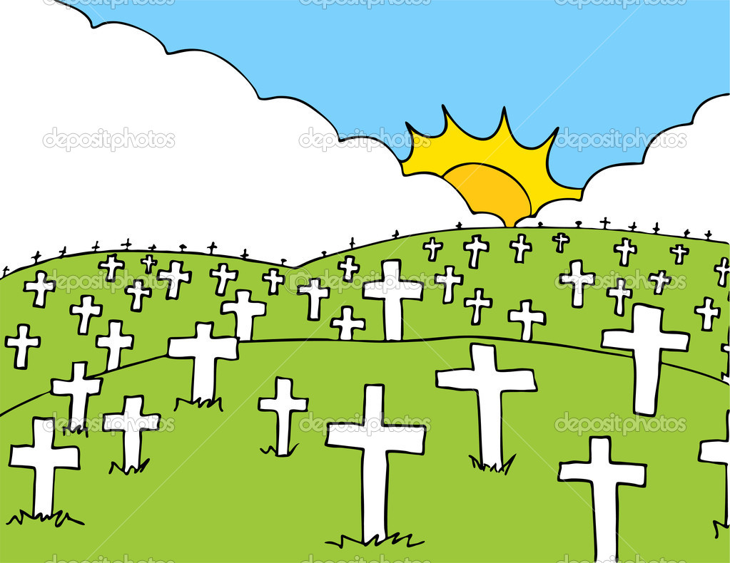 cemetery clipart-cemetery clipart-1