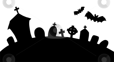 cemetery clipart-cemetery clipart-3