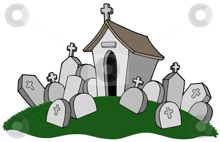 cemetery clipart-cemetery clipart-0