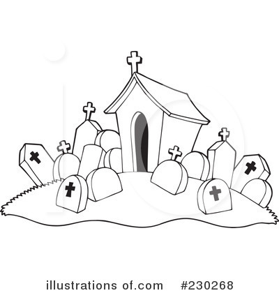 Cemetery Clipart More Clip Art Illustrations Of