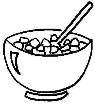 Cereal Bowl Colouring Pages (page 3)-cereal Bowl Colouring Pages (page 3)-8
