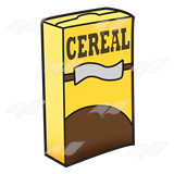 Cereal Box .
