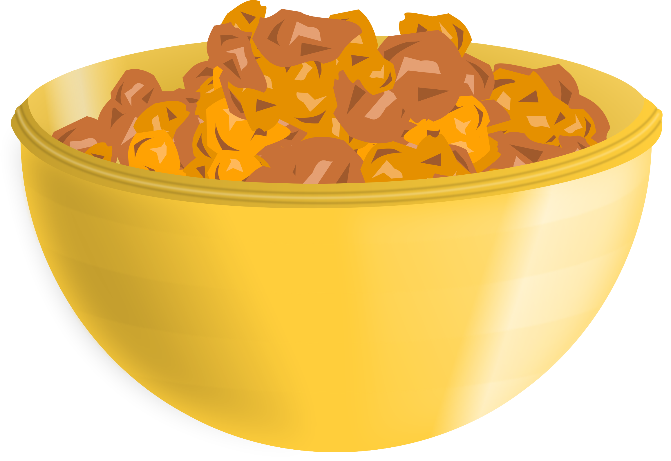 Cereal Clipart big bowl