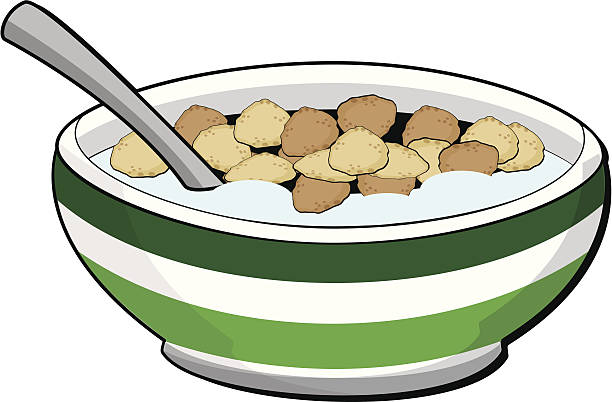 Cereal vector art illustration