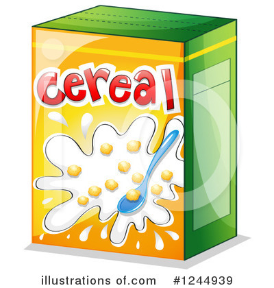 Royalty-Free (RF) Cereal Clipart Illustration #1244939 by Graphics RF