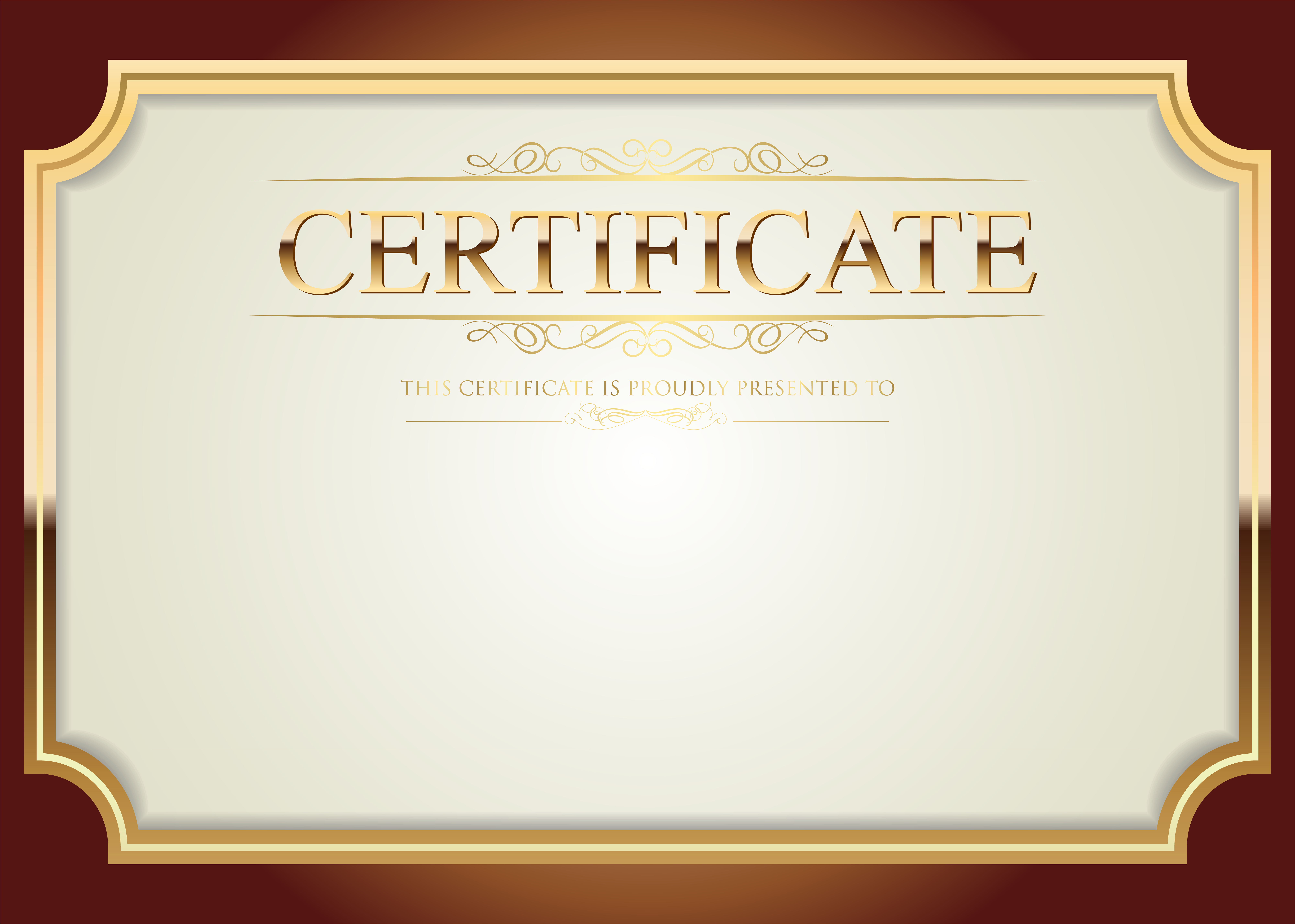 Certificate Template PNG Clip Art | Gallery Yopriceville - High-Quality  Images and Transparent