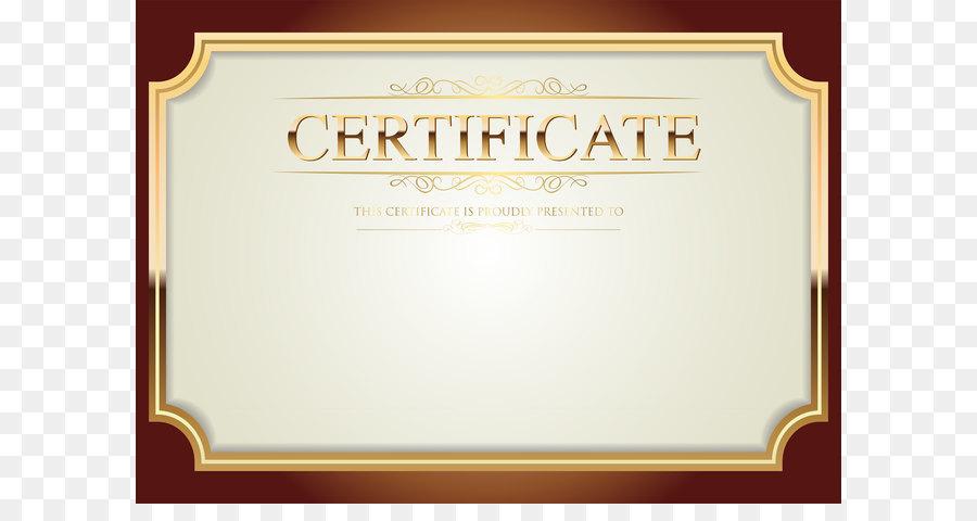 Clip art - Certificate Template PNG Clip Art