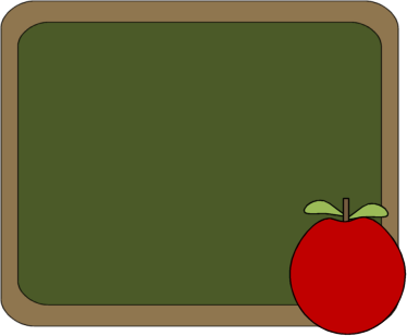 Chalkboard And Apple-Chalkboard and Apple-3