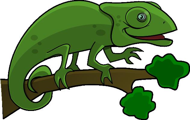 Chameleon Clip Art-Chameleon Clip Art-12