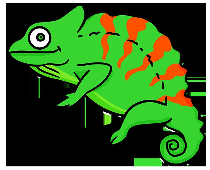 chameleon clipart - Chameleon Clip Art