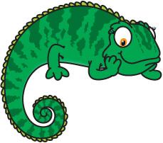 Chameleon Cartoon Cameleon Clipart Free Clip Art Images