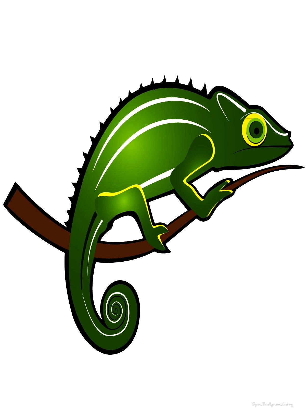 Chameleon 20clipart