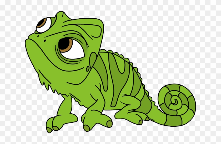 Chameleon Clipart Pascal - Tangled Clip Art Pascal #162365