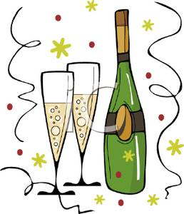 champagne clipart