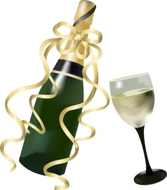 Champagne Glass Clip Art