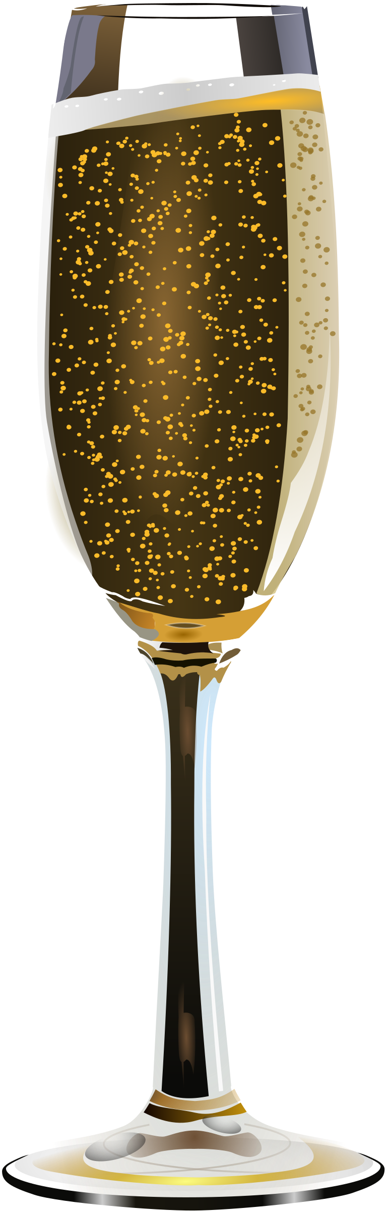 Champagne glass clipart hostted