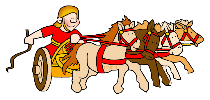 Chariot u0026middot; Writer. For More Free Ancient Rome Clip Art ...