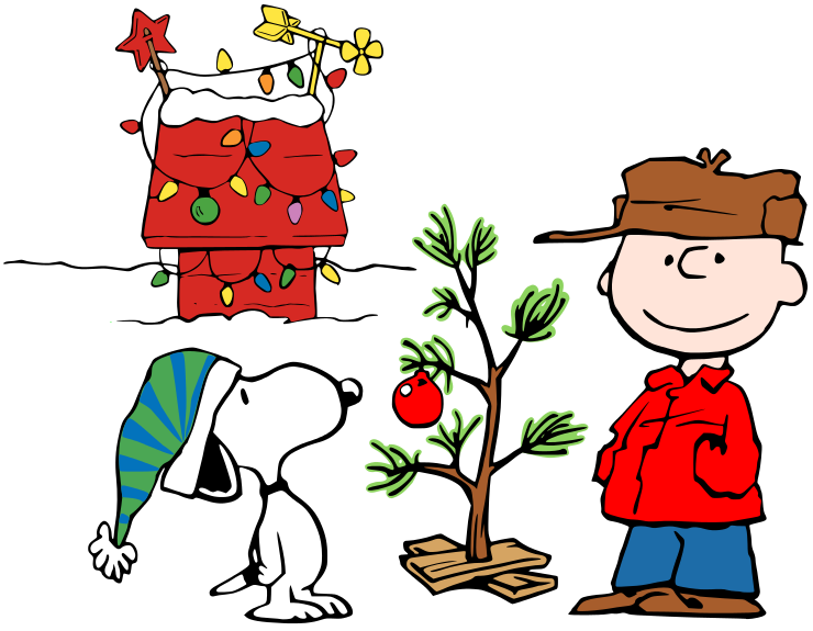 Charlie Brown Christmas Clip Art