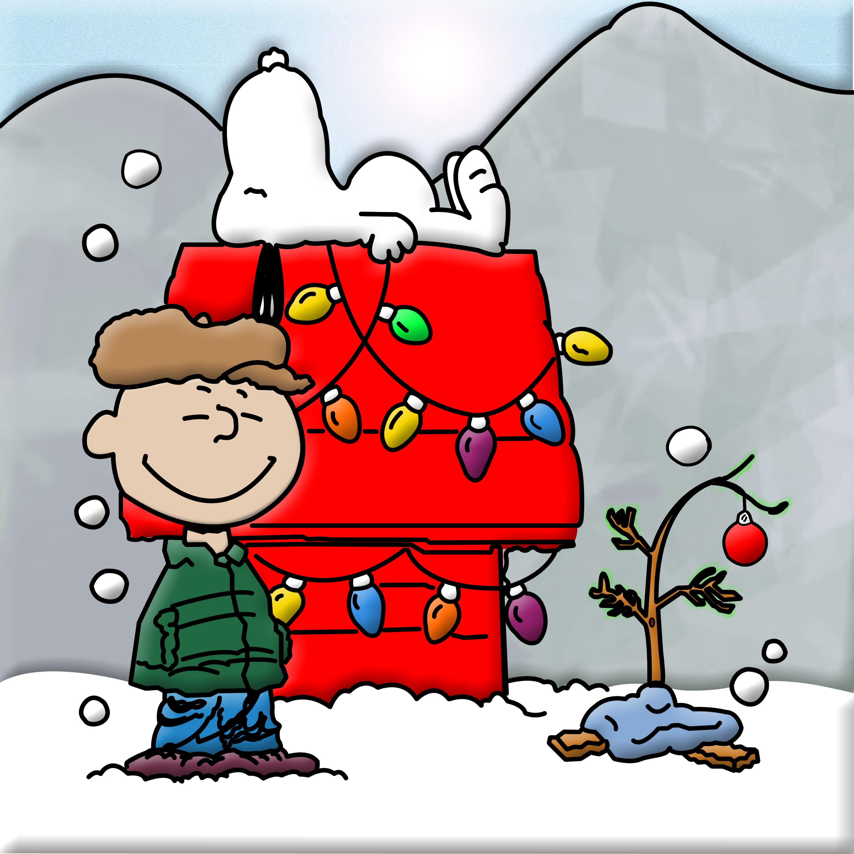 Charlie Brown Snoopy Christmas Starry Ch-Charlie Brown Snoopy Christmas Starry Christmas Tree White-10
