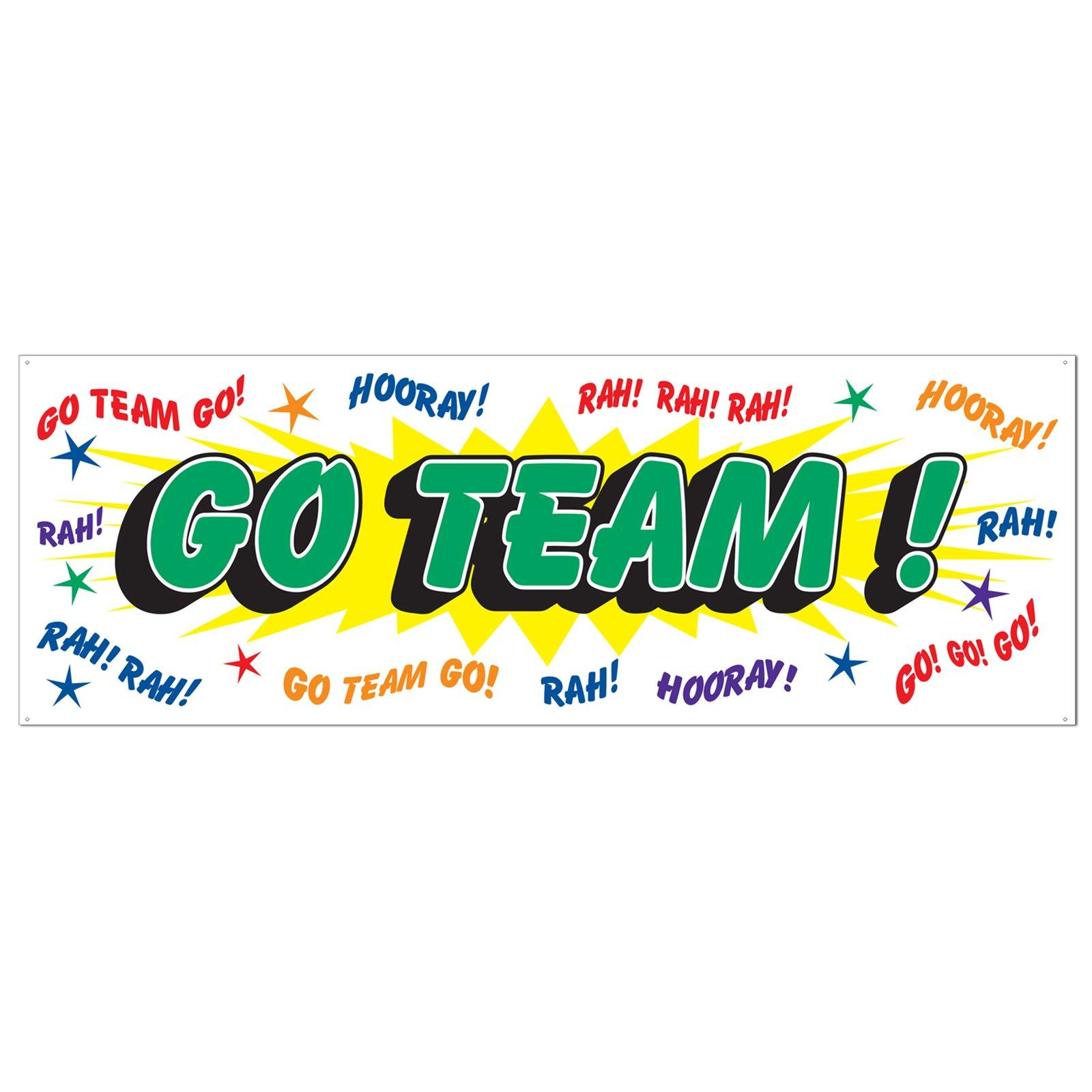 Cheap Go Team Sign Banner At ..