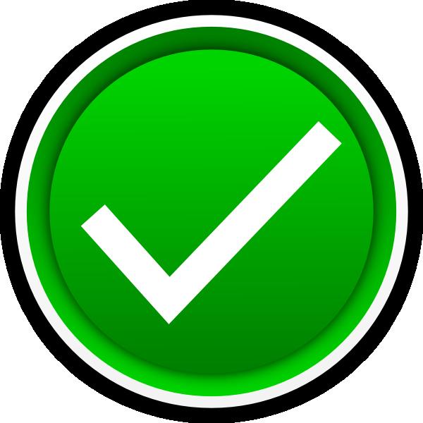 ... Check Mark Clip Art - clipartall; Green check mark clipart ...