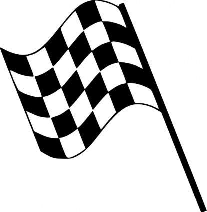 Checkered Flag Clip Art Free .-Checkered flag clip art free .-1