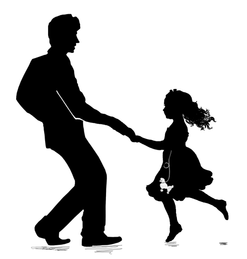 Cheddar Up: Collecting money . Cheddar Up: Collecting money . Daddy Daughter Dance Clipart