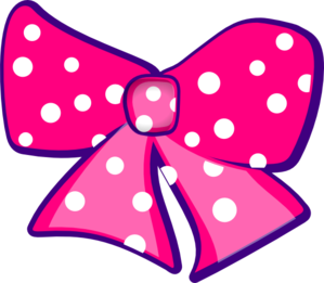 Cheer Bow Clipart Pink Bow Clip Art