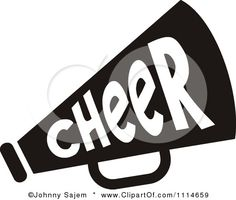 Cheer Megaphone Clip Art | Royalty-Free (RF) Cheer Megaphone Clipart,  Illustrations
