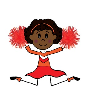 Cheerleader Clip Art Images Cheerleader Stock Photos Clipart