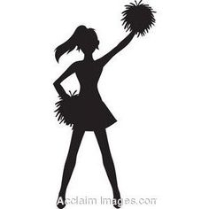 cheerleader clipart 6