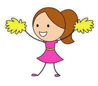 cheerleader-with-yellow-pom-pom-1114 cheerleader with yellow pom pom. Size: 43 Kb From: Cheerleading
