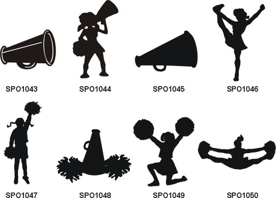Cheerleading cheer clip art and art on