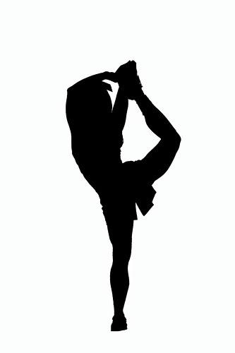 Cheerleading Silhouette Clip Art Clipart-Cheerleading silhouette clip art clipart-12